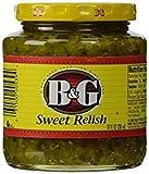 B&G Sweet Relish 10 Oz. Pack Of 3.