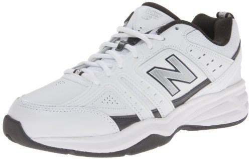 New Balance Men's Mx409-M, White/Grey, 9.5 D US