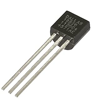 Maxim Dallas DS18B20+ Digital Temperature Sensor TO92  Amazon.co.uk   Electronics 10ff6a015527d