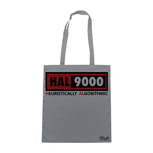 Borsa Hall 9000 2 2001 Space Oddyssey - Grigia - Film by Mush Dress Your Style