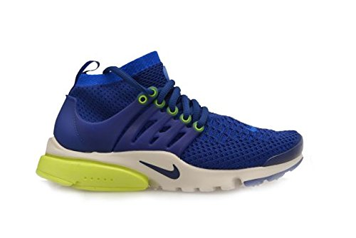 Image of NIKE Womens air Presto Flyknit Ultra Running Trainers 835738 Sneakers Shoes (US 7, deep Royal Blue Summit White 401)