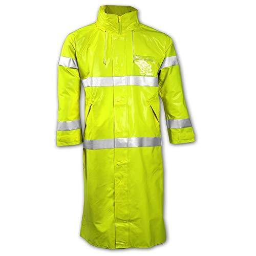 Hi-Vis YellowithGreen L C53122 Tingley FR Raincoat