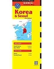 Korea & Seoul Travel Map Second Edition