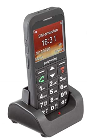 Téléphone GSM SWISSVOICE MP33 NOIR