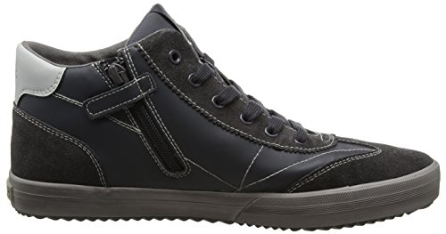 Trainers J Geox Grey Adults' Dk Alonisso C Grey C0671 Hi Unisex Boy Top Grey aa6w8q