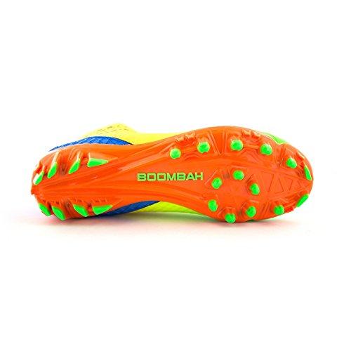 Boombah Mens Gunner Modellato Metà Tacchetti Da Calcio - 12 Opzioni Di Colore - Più Dimensioni Multi