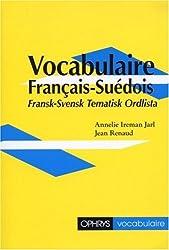 Vocabulaire français-suédois : Fransk-Svensk tematisk ordlista
