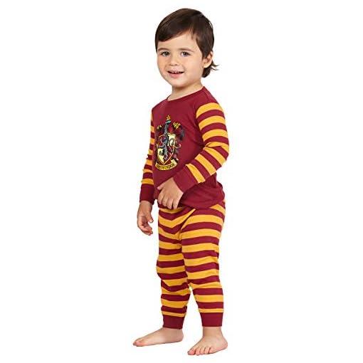 Harry-Potter-Baby-Hogwarts-Houses-Crest-Logo-Cotton-Infant-Pajama-Gift-Set