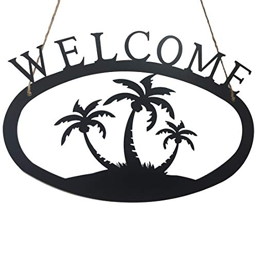 Plaque Large Hanging (Welcome Sign, 17