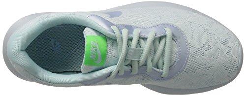 Nike Womens Tanjun Eng Scarpa Da Corsa Glacier Blue / Blue Tint / Electro Green