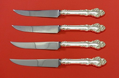 - Spanish Baroque by Reed and Barton Sterling Silver Steak Knife Set 4pc Custom