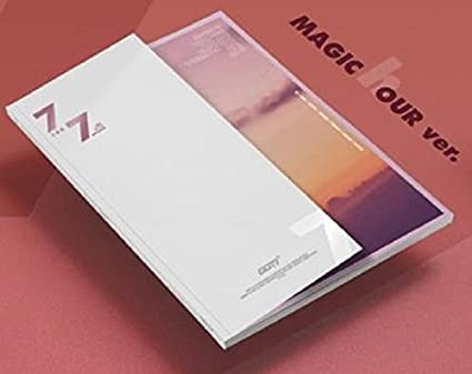6aa3fcddbe2fd Amazon.com: GOT7 - 7 for 7 [A ver.] CD+Booklet+Official Folded ...