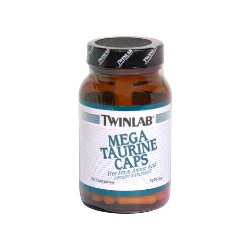 Twinlab Mega Taurine 1000mg Caps, 50 capsules