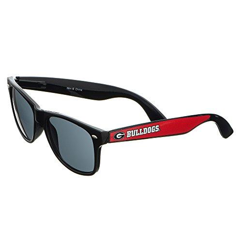 Sport Black Bulldogs Sunglasses - Georgia Bulldogs Black Plastic Frame Classic Sunglasses with Logo