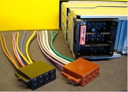 amazon com blaupunkt car sterio wire harness power plug 16 pin for rh amazon com blaupunkt wiring harness bahama blaupunkt bpa-415 a wiring harness