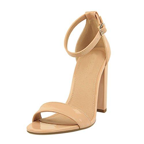 Miyoopark Femme pour Sandales 1 Nude DS0509 MiyooparkUK BqwX1rB