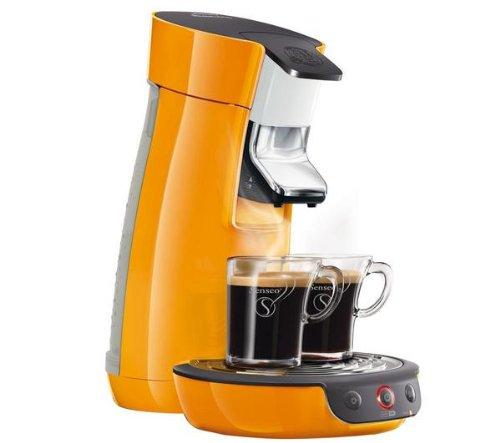 Cafetera Senseo Viva Café HD7825/21 - naranja + Porta-cápsulas ...