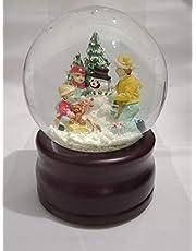 بلورة كريستال للكريسماس بشكل رجل الجليد