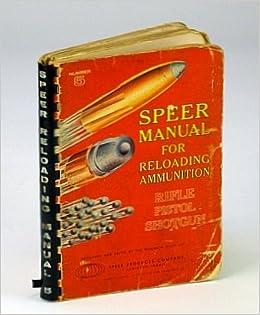 Speer Handloading Manual Number 15 2018, Hardcover