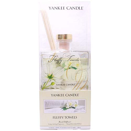Yankee Candle Fluffy Towels Reed Diffuser: Amazon.co.uk: Kitchen & Home
