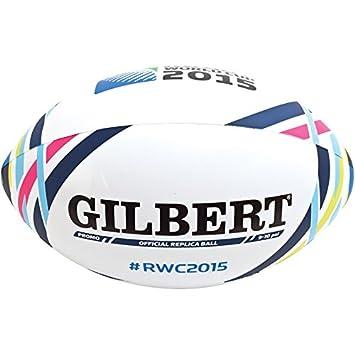 Gilbert - Balón hinchable de rugby, diseño de la Copa del Mundo ...
