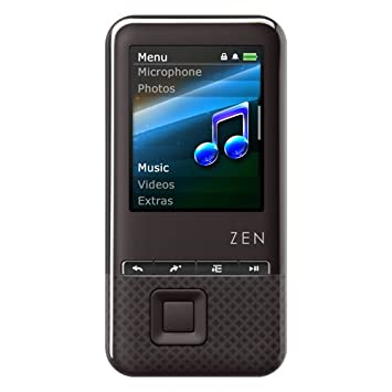 creative zen style 100 8gb mp3 and video player with 1 8 inch screen rh amazon co uk Zen Symbols Creative Zen Touch Operation