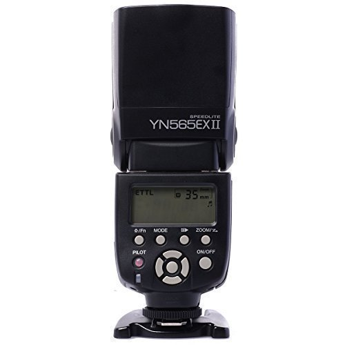 Yongnuo YN-565EX II E-TTL flash Speedlight de Multi-función Flash para Cámara Canon DSLR + WINGONEER