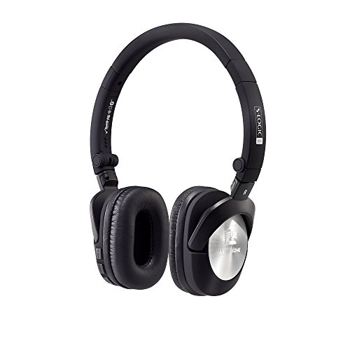 Ultrasone Go Bluetooth On-Ear Headphones with Mic and Remote (Black)