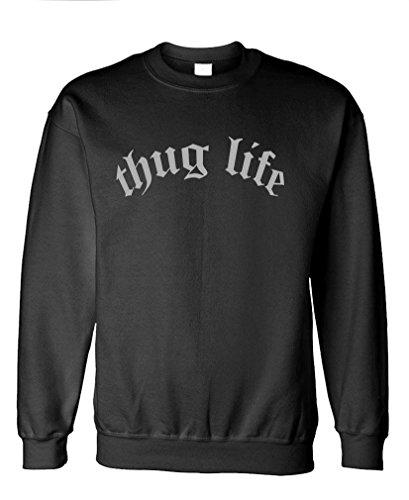 GOOZLER THUG LIFE Fleece Sweatshirt