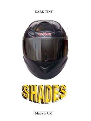 fonc/é Shades Pi/èce dinsertion pour visi/ère de casque de moto