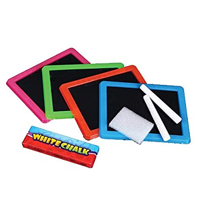 Shindigz Neon Chalkboard Sets Package of 12: Toys & Games