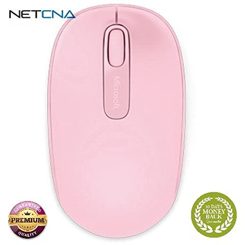 Wireless Mouse 1850 (Light Orchid) Wireless Mouse 1850 (Light Orchid) With Free 6 Feet NETCNA HDMI Cable - BY (Wireless Mouse Orchid)