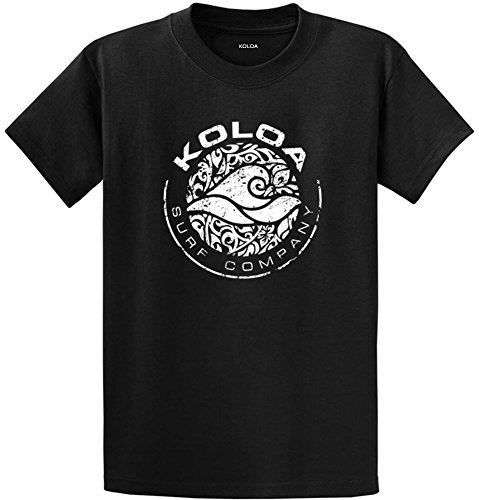 Koloa Surf Co. Circle Wave Logo T-Shirts in Size X-Large Tall -XLT