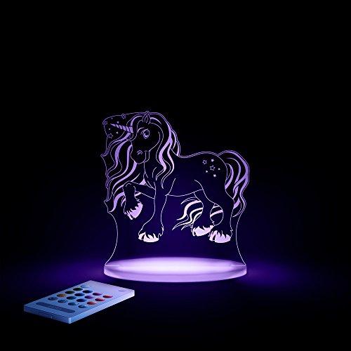 Aloka Magic Unicorn Starlight Magic Unicorn Starlight Multi-Colored Led Light with Remote Control, 8