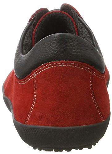 Sole de Zapatos Adulto Kari Red Unisex Cordones Runner Derby Rot HxawqH