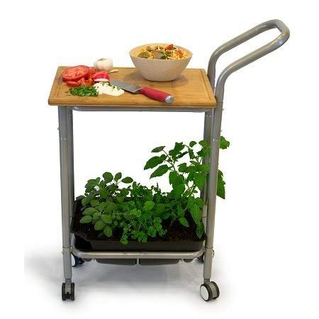 - Homegrown Gourmet Harvest Kitchen Cart