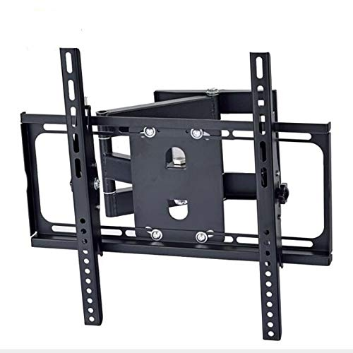 (SSRSHDZW TV Stand Telescopic Rotating TV Rack Left and Right Swing 90 Degree TV Wall Multifunctional Cantilever Super Load Bearing Black TV Rack)
