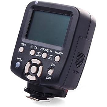 YONGNUO YN560-TX for Canon Flash Transmitter Provide Remote Manual Power Control for YN-560 III Manual Flash Units Having Manual RF-602 RF-603 RF-603 II Compatible Radio Receivers Built In LF466