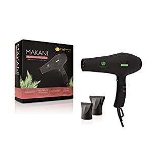 Paul Brown Hawaii Makani Professional Ionic Far-Infrared Multi-Speed Hair Dryer, Contains Multiple Heat and Speed Settings, For Professional and Personal Use!