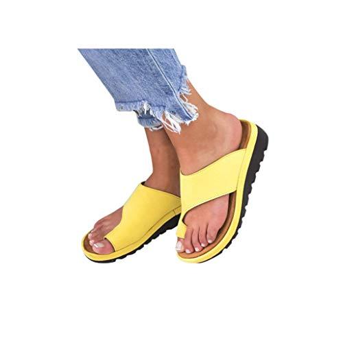 (Dressin Women's Sandals 2019 New Women Comfy Platform Sandal Shoes Summer Beach Travel Shoes Fashion Sandal Ladies Shoes)