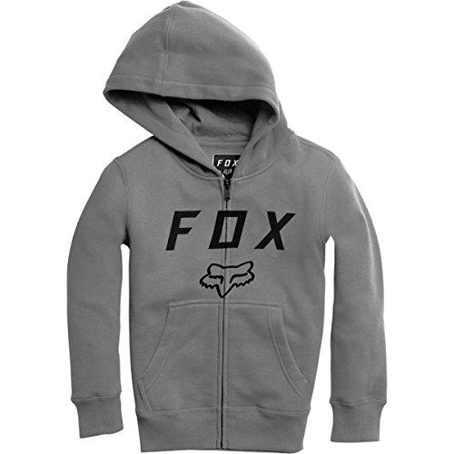 Fox Racing Boys Legacy Moth Zip Fleece Hoody Zip Sweatshirts Heather Graphite TfQjxIvBmM