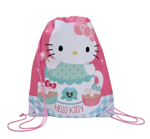 Hello Kitty - Bolso escolar (Blueprint Collections HKTP8554)