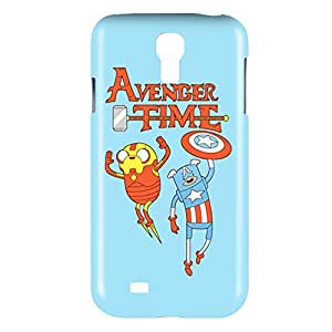 Adventure Time Finn and Jake Snap on Plastic Case Cover Compatible with Samsung Galaxy S4 GS4