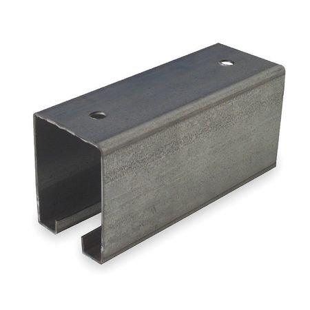 Plain Box Rail, 600 lb, 144 In (Box Rail Plain)