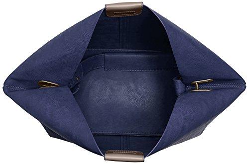 Mujer Navy Hombro 7401570 Bolsa de Azul Para Belmondo wW7U6XqcPW