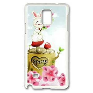 Note 4 Case, Case for Samsung Galaxy Note 4 PC Material White by Sakuraelieechyan-It's Spring