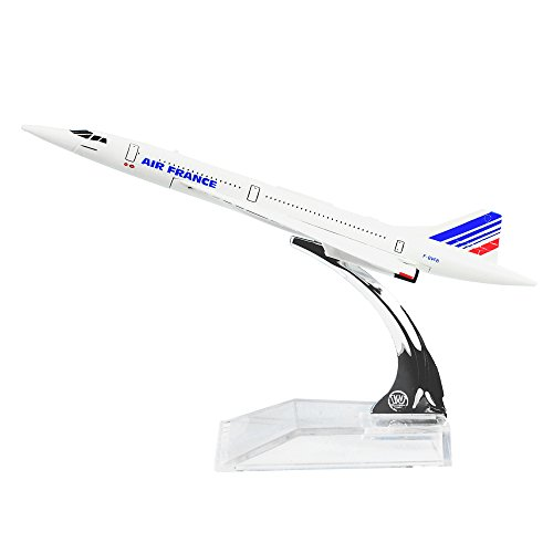 The Air France F-BVFB Concorde Alloy Metal Souvenir Model Airplane