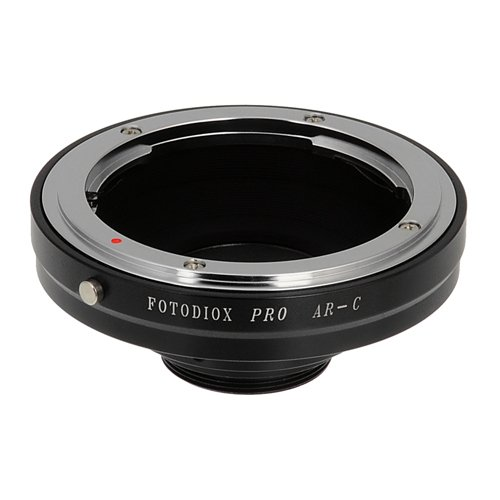 Fotodiox Pro Lens Mount Adapter, for Konica AR lens to C-mount Movie Cameras and CCTV Cameras