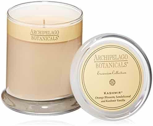 Kashmir Glass Jar Candle