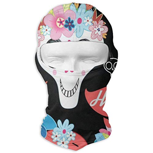 Balaclava Vintage Happy Halloween Colorful Skulls Full Face Masks UV Protection Ski Hat Sports Cap Motorcycle Neck Warmer Hood for Cycling Snowboard Women Men Youth]()
